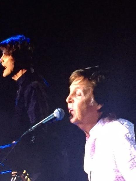 Paul McCartney sings one of his well-known songs from the 1970s after The Beatles broke up and he fo...