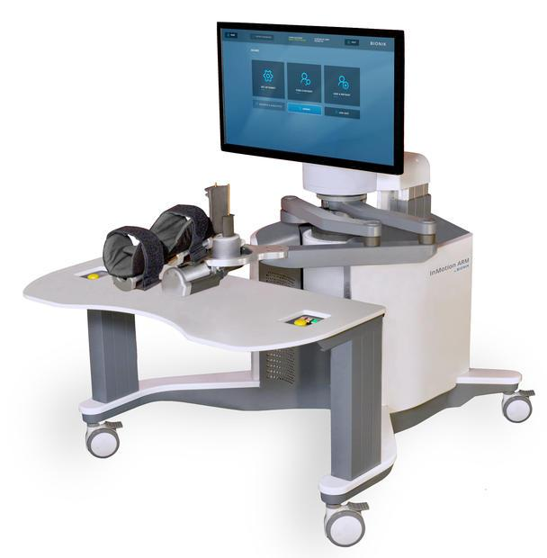 The InMotion ARM™ Robot is evidence based  intelligent  interactive technology that is capable of ...