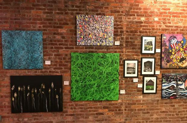 Art Display Spotlight NY