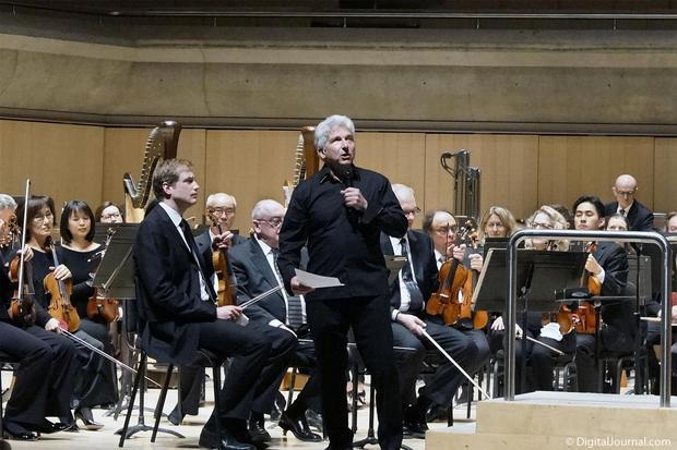 Conductor emeritus of the Toronto Symphony Orchestra  maestro Peter Oundjian.
