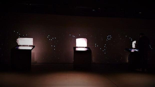 The London Mithraeum also feature several interactive displays  where visitors can learn about the h...