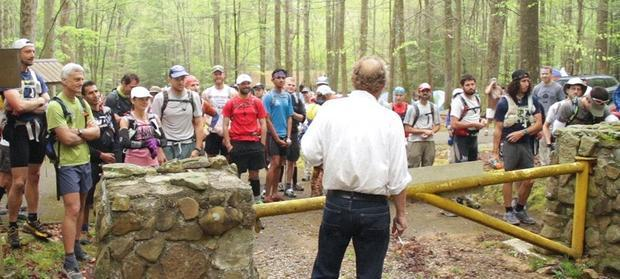 A scene from  The Barkley Marathons: The Race That Eats Its Young