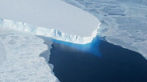 The Thwaites Glacier part of the West Antarctica Ice Sheet is undergoing accelerated melt along with...