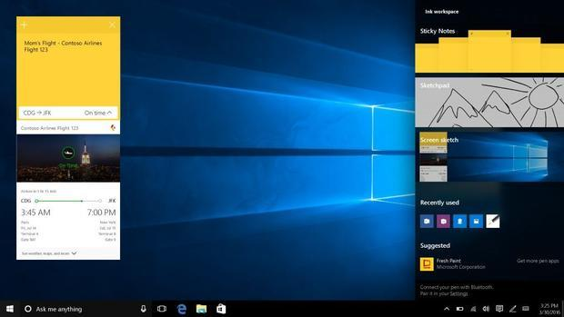 New features coming to Windows 10 in  Anniversary Update