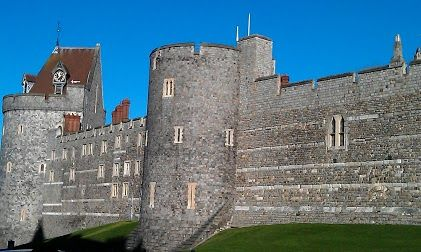 One of the turrets of Windsor Castle.