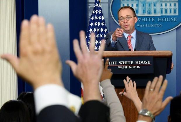 Acting White House Chief of Staff Mick Mulvaney had said the Trump resort was 'the best place&a...