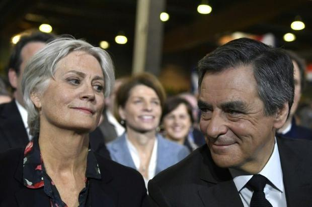 Francois and Penelope Fillon and another defendant have been ordered to reimburse the National Assem...