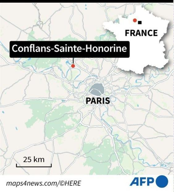 Man decapitated near Paris