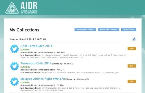 The AIDR project for classifying noisy Twitter data after a disaster