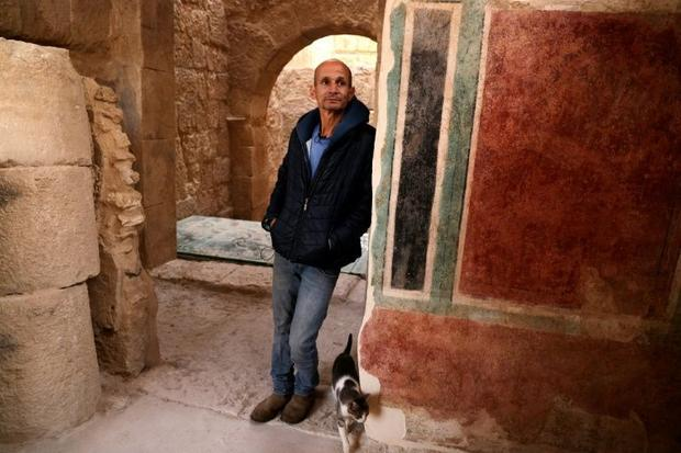 Roi Porat  an archaeologist at the Hebrew University of Jerusalem  notes that paintings in the royal...