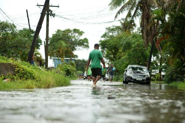 Super Cyclone Yasa was already causing widespread flooding  cutting off roads and leaving communitie...