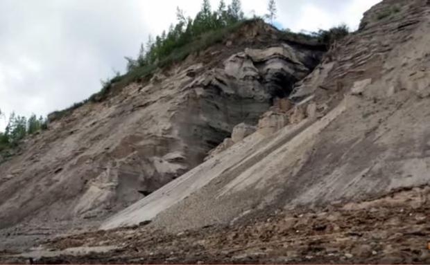 Mammoth Mountain in Siberia s Sakha Republic.