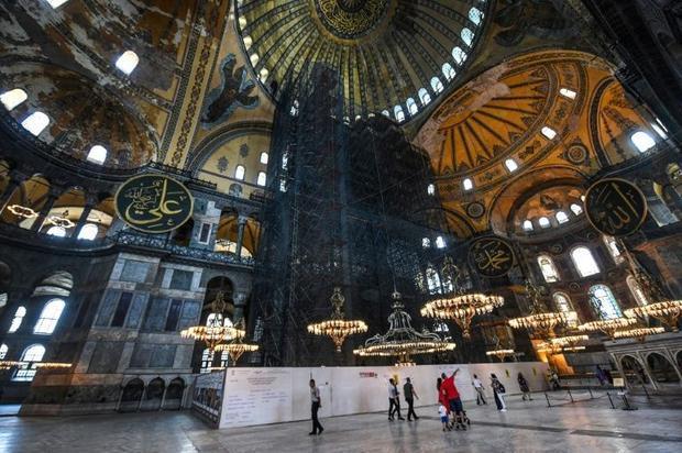 Hagia Sophia is a UNESCO World Heritage site