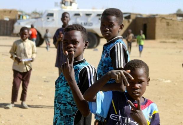 The camps for the displaced in Darfur have been around for so long that some children and even teena...