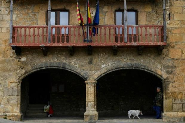 Terriente  in the Spanish province of Teruel  still has a bakery and a cafe  along with three newbor...