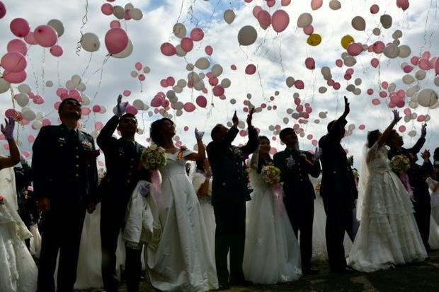 Last year  Taiwan became the first place in Asia to allow same-sex marriage
