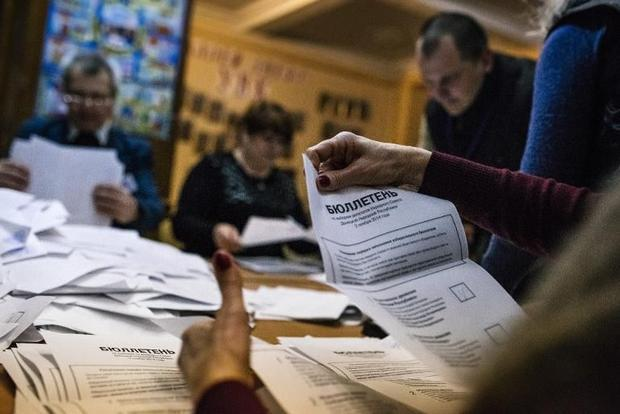 The vote in the self-declared Donetsk People's Republic and Lugansk People's Republic was ...