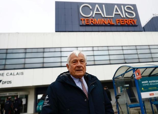 Calais port president Jean-Marc Puissesseau said  officials were relaxed about the new arrangements ...