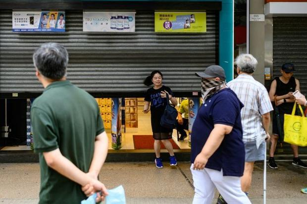 Some stores have repeatedly had to pull down the shutters as violence has erupted