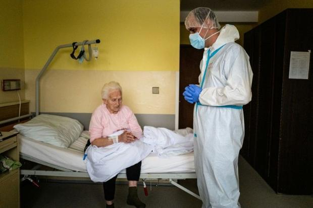 With churches closed  a total of 77 Catholic priests have volunteered to help out in hospitals in ea...