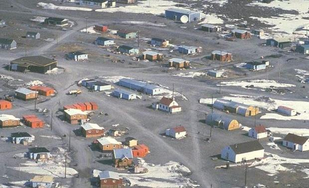 Ulukhaktok (Holman Island) is a traditional home of the Copper Eskimos. Franklin was the first Europ...