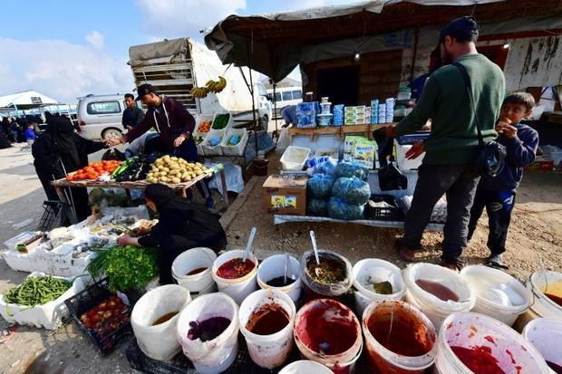 The World Food Programme has said humanitarian conditions in Al-Hol camp are