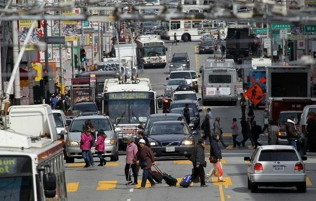 A new study on tech hub San Francisco published Wednesday in Science Advances has found ridesharing ...