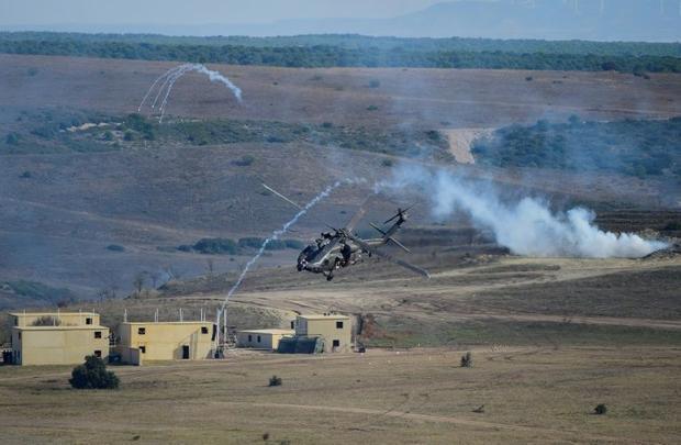 Spain provides desert-like training grounds for NATO forces