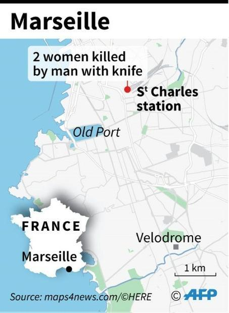 Knife attack in Marseille