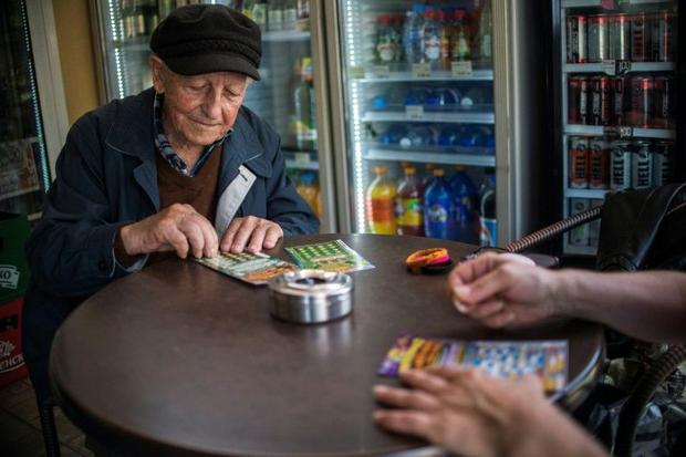 Earlier this year  96-year-old Stoyan Stoimenov won 2 500 euros on a scratchcard lottery in Tsurkva ...