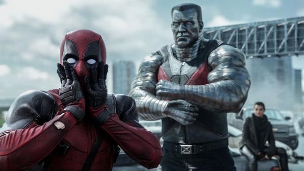 A scene from  Deadpool