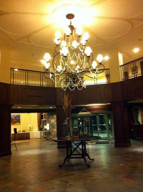 Inside Deerhurst Resort in Ontario