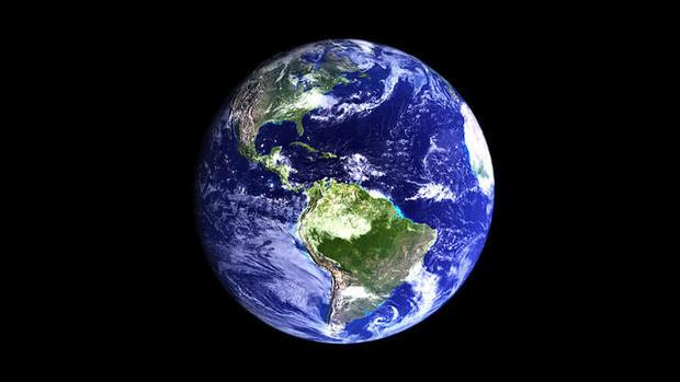A rendering of Earth via Autodesk