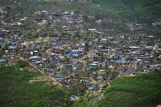 Following the devastation caused by Hurricane Matthew  nearly 1.5 million people  of a total populat...