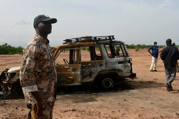 Six French humanitarian workers based in Niamey were slaughtered at the park along with their Nigeri...