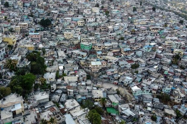 On the hilltops east of Port-au-Prince  in the Petionville suburb  merchants have been protesting in...