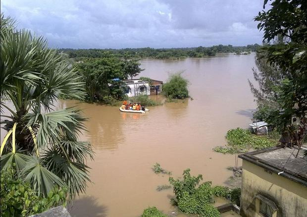 Floods are a significant environmental issue for India. It causes soil erosion  destruction of wetla...