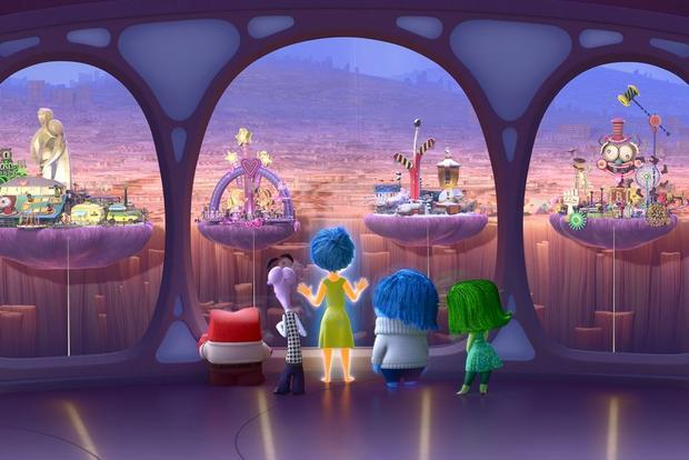 A scene from  Inside Out