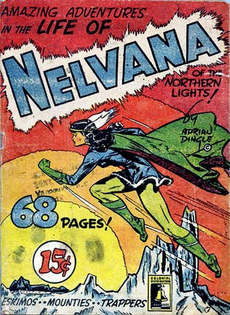 Cover of Nelvana #2 by Adrian Dingle