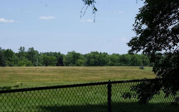 A view of Love Canal in 2012: Most toxic areas on the site have been resealed or removed.   Ground Z...
