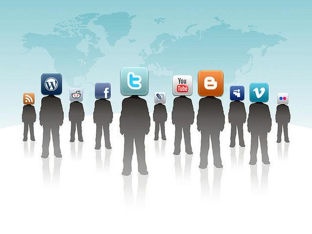 An illustration of the ubiquity of social media