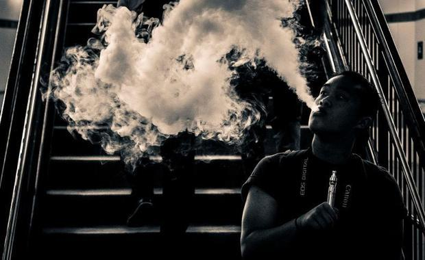 Vaping use among teens has jumped 78% over the last few years.