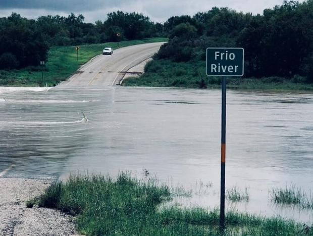 Texas has been dealing with flooding from heavy rains caused by Tropical Depression Imelda.