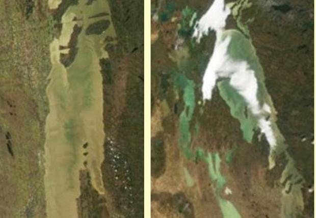 Moderate Resolution Imaging Spectroradiometer (MODIS) now orbiting aboard two of NASA's satellites...
